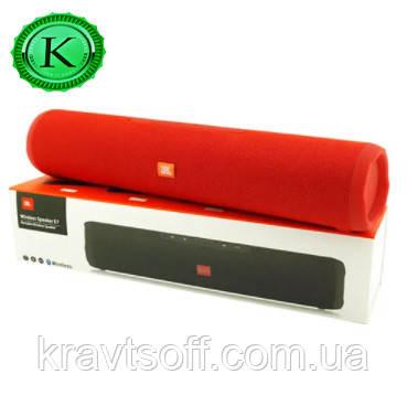 Беспроводная bluetooth-колонка JBL E7, c функцией speakerphone, радио