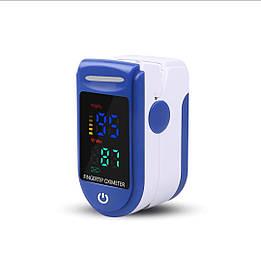 Пульсовой оксиметр SUNROZ LED пульсометр (пульсоксиметр) на палец Голубой (SUN4278_1) 903452678