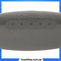 Портативная Bluetooth колонка Hopestar H27 Серая - мощная акустическая стерео блютуз колонка, фото 3