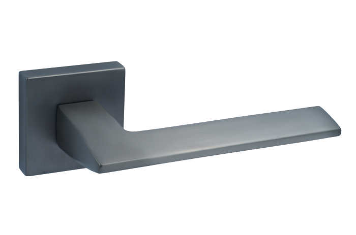Ручка на квадратной розетке алюминий Trion GRECO MBN