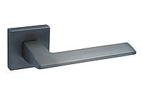 Ручка на квадратной розетке алюминий Trion GRECO MBN, фото 1