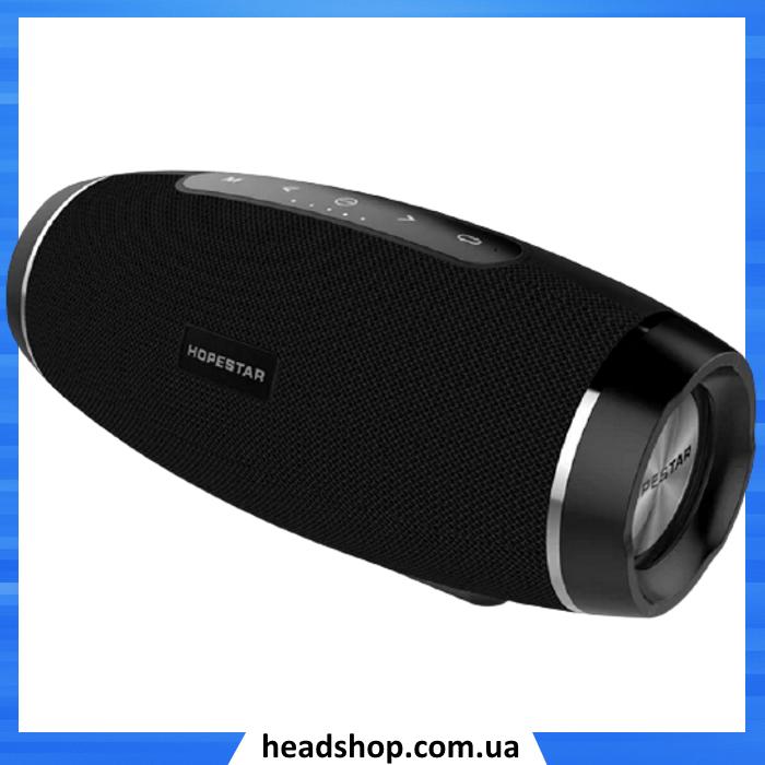 Портативна Bluetooth колонка Hopestar H27 Чорна - потужна акустична стерео блютуз колонка