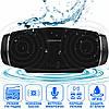 Портативна Bluetooth колонка Hopestar H27 Чорна - потужна акустична стерео блютуз колонка, фото 2
