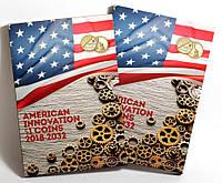 Капсульный альбом для монет США. Американские инновации