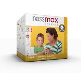 Інгалятор - небулайзер Rossmax NB 60 компресорний для дітей і дорослих, Швейцарія