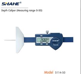 Глубиномер цифровой Shahe 0-50 мм/001 мм 5114-50 (mdr_7168)