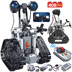 Конструктор Erbo Technic Walle робот на радіоуправлінні, 408 деталей