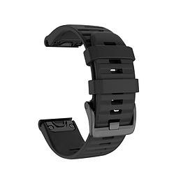 Ремінець для розумних годин Garmin Fenix 5/6/6 Pro, ширина ремінця 22мм, Чорний