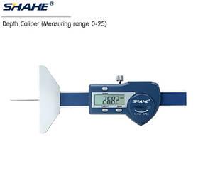Глубиномер цифровой Shahe 0-25 мм/001 мм 5114-25 (mdr_7219)