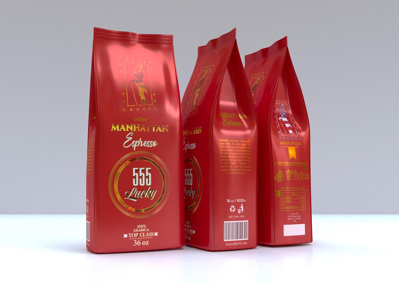 Lucky Manhattan Espresso 1020 р. зерно