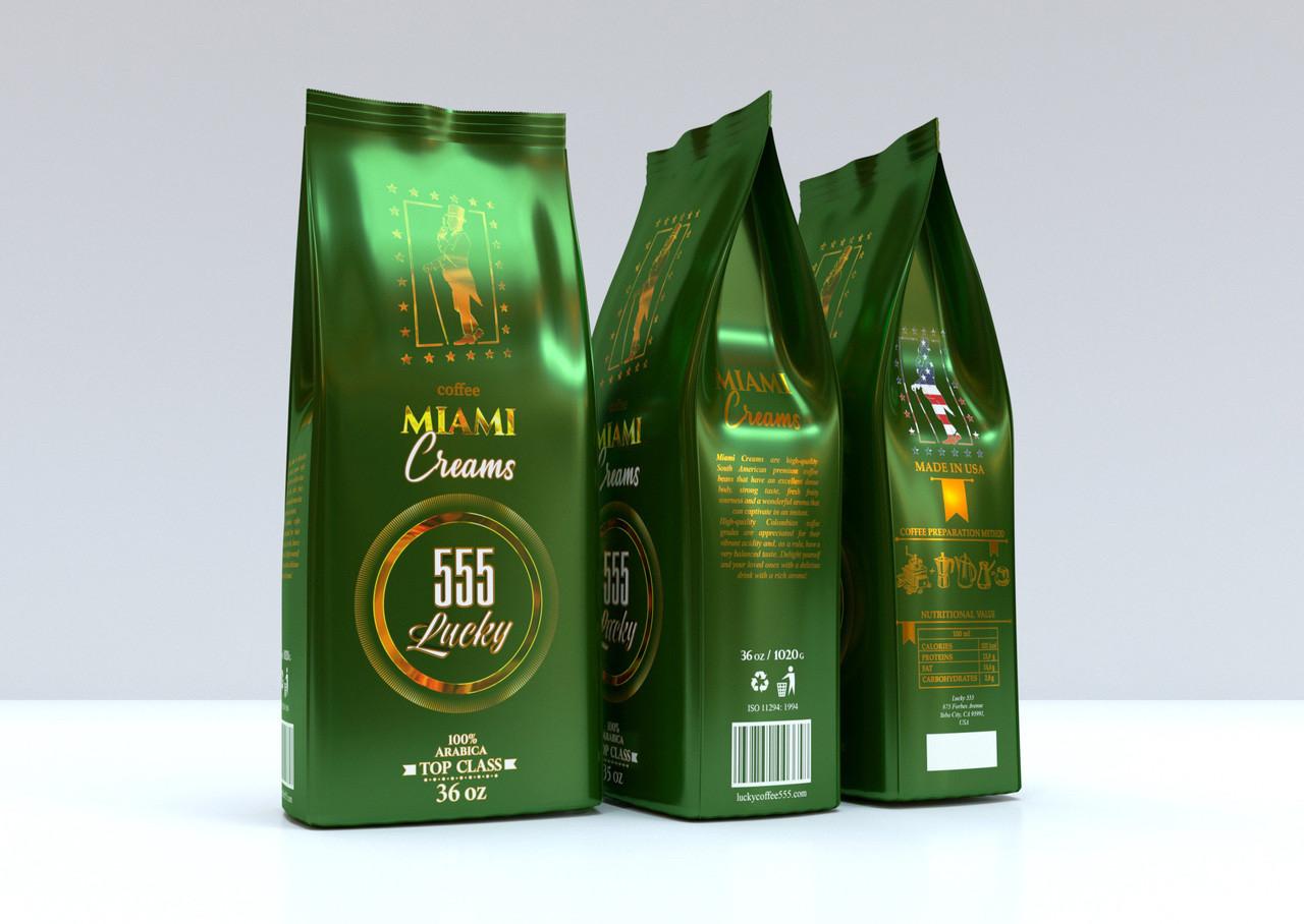 Lucky Miami Cream 555 р. зерно