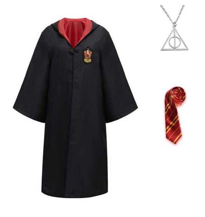Костюм - набор (мантия галстук и кулон) факультета Гриффиндор (125-135 см) ABC Гарри Поттер, фото 2