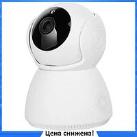 IP камера видеонаблюдения V380-Q9 - Беспроводная поворотная Wifi камера с ночным режимом и громкой связью