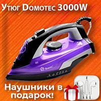 Утюг c керамической подошвой Domotec MS-2258 3000W