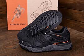 Фірмові шкірні кросівки чоловічі демісезонні