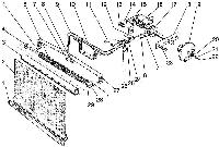 Группа 13. Система охлаждения Подгруппа 1310. Шторка