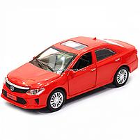 Машинка ігрова автопром «Toyota Camry» Тойота, червона, метал, 14 см, (світло, звук, двері відкриваються) 7814, фото 3
