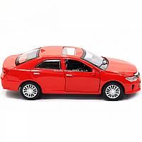Машинка ігрова автопром «Toyota Camry» Тойота, червона, метал, 14 см, (світло, звук, двері відкриваються) 7814, фото 4