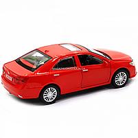 Машинка ігрова автопром «Toyota Camry» Тойота, червона, метал, 14 см, (світло, звук, двері відкриваються) 7814, фото 5