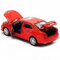 Машинка ігрова автопром «Toyota Camry» Тойота, червона, метал, 14 см, (світло, звук, двері відкриваються) 7814, фото 6