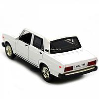 Машинка ігрова Автопром Жигулі Білий зі світловими і звуковими ефектами (7794), фото 5
