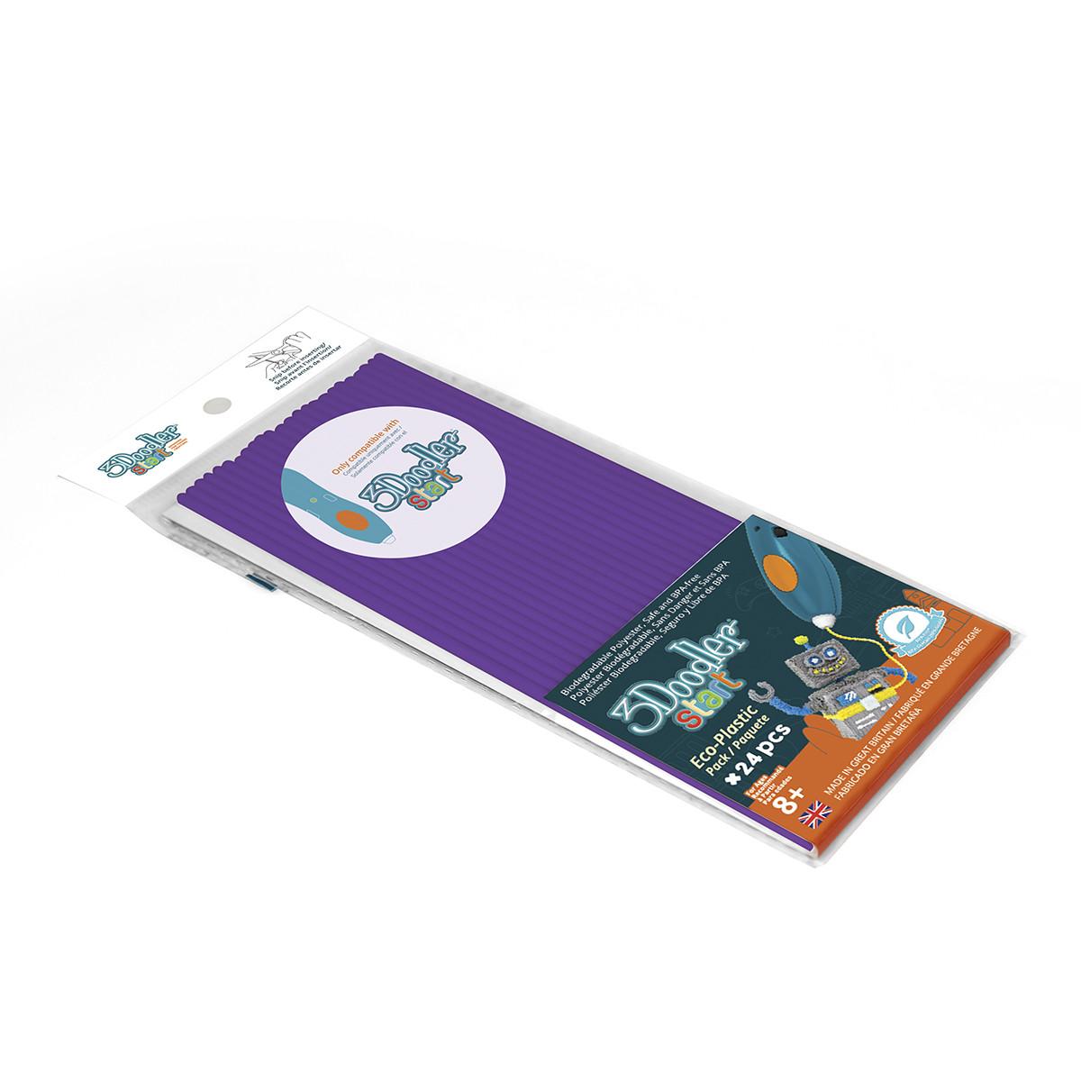 Набор Стержней Для 3D-Ручки -Фиолетовый 3Doodler Start 3DS-ECO21-PURP-24