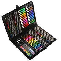 """Детский набор для рисования и творчества юного художника """"Набір для малювання"""" в чемоданчике 150шт Art Set"""