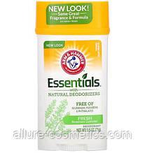 Прозрачный дезодорант без металлов Розмарин и лаванда Arm & Hammer Deodorant with Natural Deodorizers Широкий