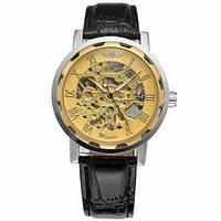 Наручний годинник Winner 8012С Black-Silver-Gold [32766-17]