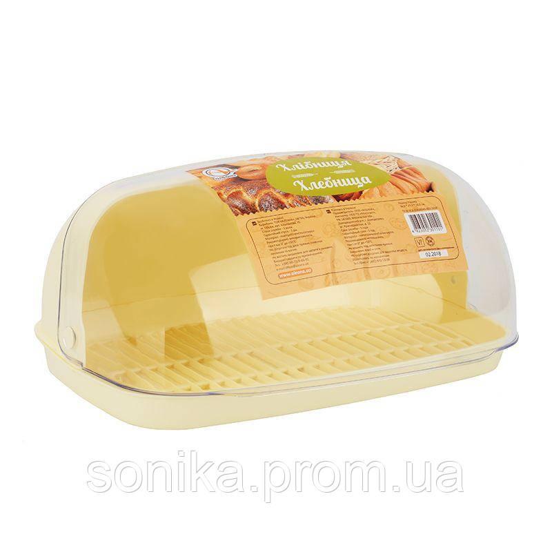 Хлібниця пластикова Алеана 167081 36х27х18см