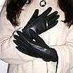 Перчатки женские сенсорные черные р. 6,5, фото 2