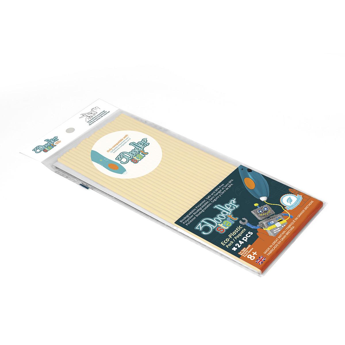 Набор Стержней Для 3D-Ручки -Кремовый 3Doodler Start 3DS-ECO13-PEACHES-24
