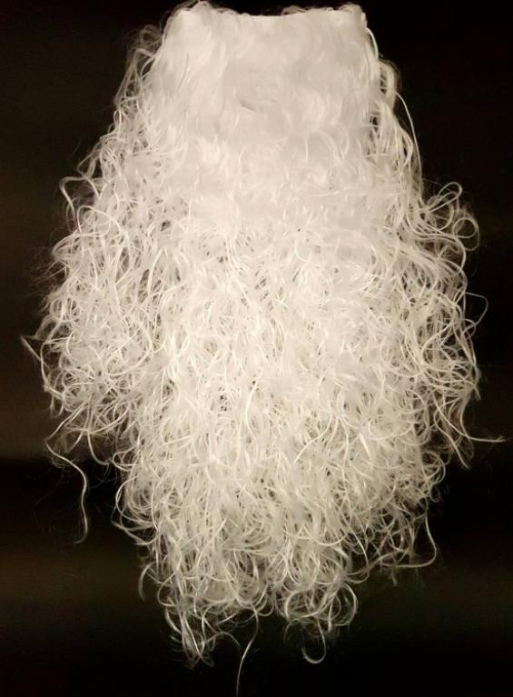 Борода Деда Мороза большая ABC 55 см