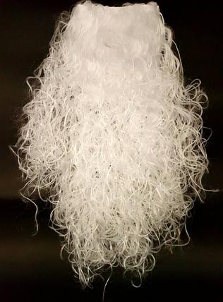 Борода Деда Мороза большая ABC 55 см, фото 2