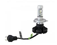 Led в фары Лампа LED X3-H4, Светодиодные лампы в противотуманных фарах или фарах головного света, Лампы автомо
