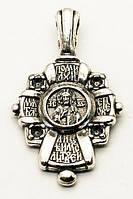 Крест серебряный Господь Вседержитель. Табынская икона Пресвятой Богородицы. Православный Крест