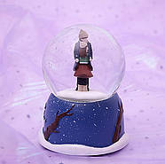 Снежный шар c автоснегом и подсветкой Объятия, фото 2