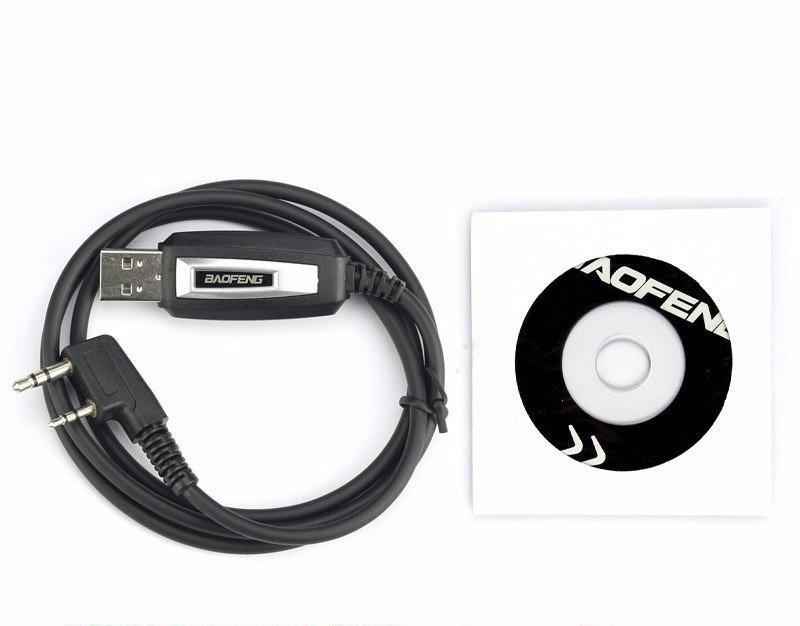 USB кабель для прошивки програмування рацій Kenwood, Baofeng та ін.