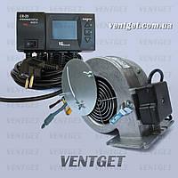 Комплект для котла автоматика KG Elektronik CS-20 вентилятор WPAX2 боковая заслонка