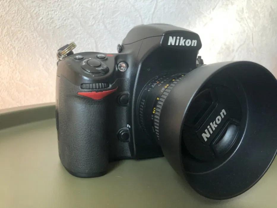 Зеркальный профессиональный фотоаппарат камера Nikon D700 Полный кадр FullFrame боди в прекрасном остоянии