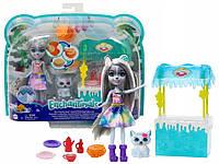 """Игровой набор Энчантималс """"Магазинчик с вафлями Хаски Хавны"""" Enchantimals Mattel (GJX37)"""