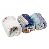 Легкое теплое зимнее цветное одеяло