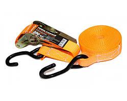 Трос стяжной, ремень багажный LAVITA 0.5 т. 5 м х 25 мм. полиэстер. LA 132506PE