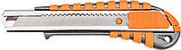 Нож NEO 63-011 с отламывающимся лезвием , 18 мм, металлический корпус
