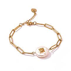 Ланковий браслет - Перлинний символ