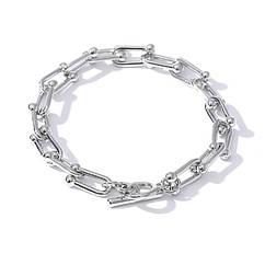 Браслет-ланцюг в стилі Tiffany - Міцність (Срібляста)