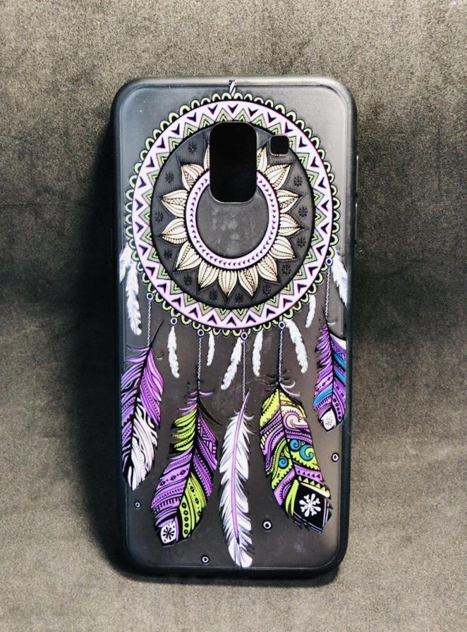 Бампер Rock Tatoo Art Case for Samsung J600 (J6-2018) Totem