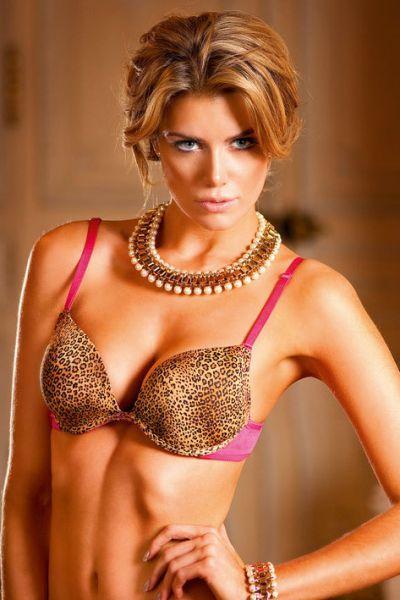 Бюстгалтер Leopard-Pink Push-Up Bra, 32A
