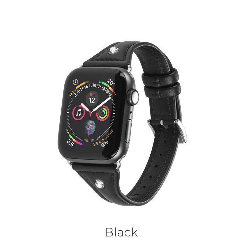 Шкіряний Ремінець для Apple Watch Series 1-4 HOCO Ocean series WB05 |38-40mm|