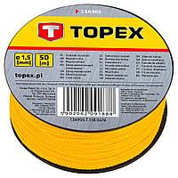 Шнур муляра розмічальний Topex, 50м